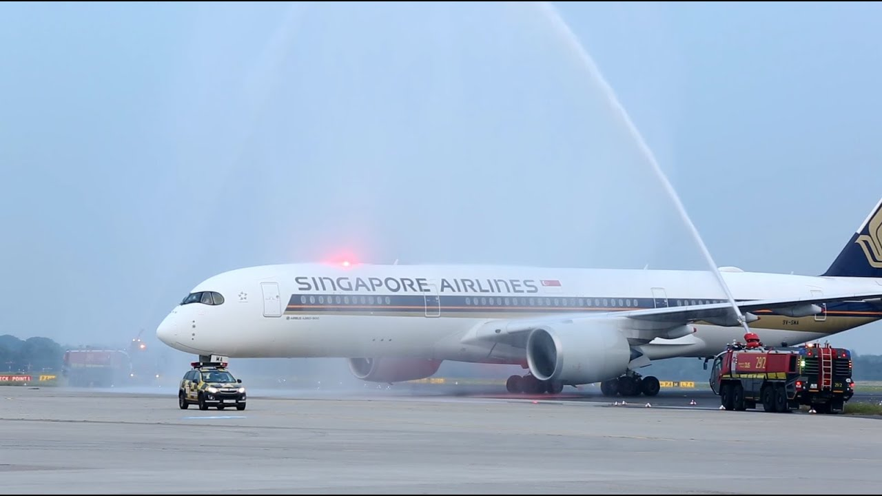 Singapore Airlines' Airbus A350 | youtube