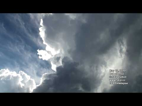 May 22, 2010 Timelapse Tornado Chase