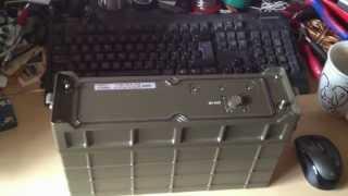 Telefunken AEG MIL Manpack 6861/12mod- Kurzwellen Tranciever 0.5-30 Mhz 2-20 Watt LSB/USB/AM
