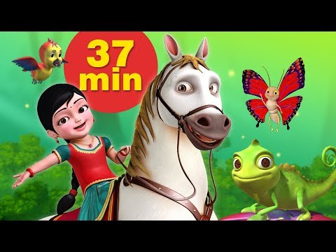 Our Animal Friends Bengali Kids Cartoon Video | Bengali Rhymes And Kids Songs | Infobells