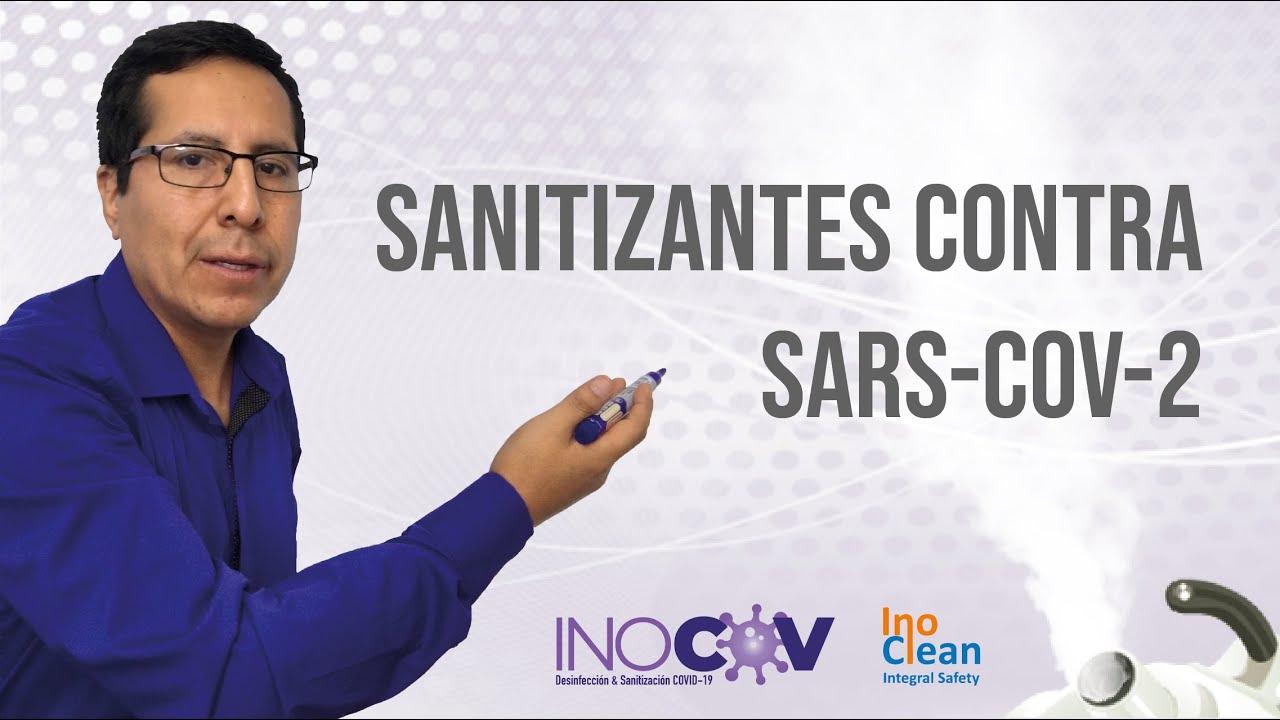 Desinfectantes contra el SARS-CoV-2 (COVID-19)