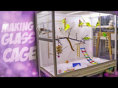 How To Build Glass Bird Cage