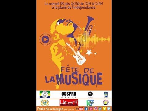 Fête de la Musique depuis Libreville au Gabon