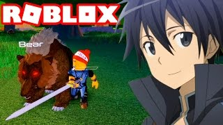 Roblox → BEAR SLAYER!! | SAO ONLINE-Swordburst 2 #2 🎮