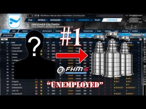 Franchise Hockey Manager 6 (FHM6) - Nothing To Something Ep. 1: