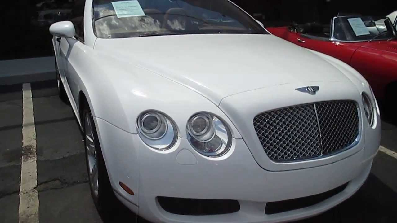 2007 Bentley Continental Gtc Vinyl Wrapped Youtube