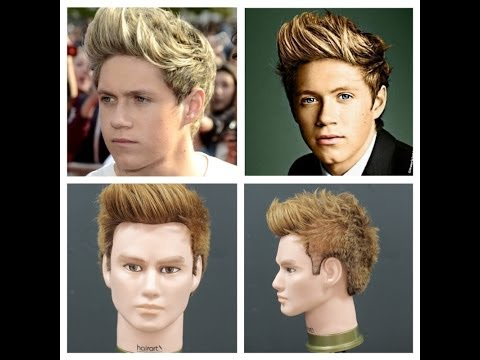 Niall Horan Haircut Tutorial - One Direction Hairstyles - TheSalonGuy