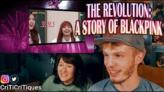 THE REVOLUTION: A STORY OF BLACKPINK (COUPLE REACTION!) [REUPLOAD]