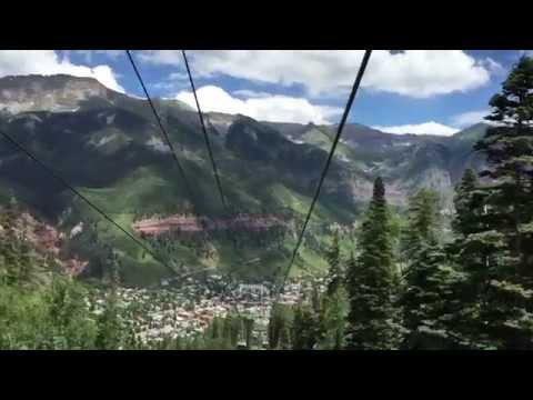 The Gondola Ride into Telluride Colorado