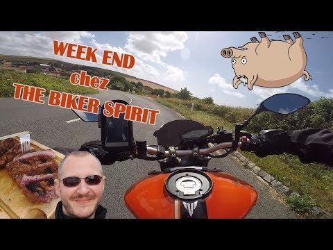 C'est Le CH'NORD - WEEK END CHEZ THE BIKER SPIRIT MT09