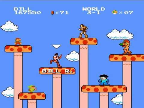 Super Mario Bros. Crossover VER. 1.0 - Bill Razor