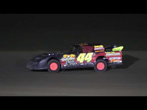 A Feature 1 (25 Laps): 99-Kyle Hunt, 7H-Bryan Hofbauer, 44-Aaron Raby, 44K-Jeff Kohn, 58J-Bobby Lynn, 36-Jeremy Spencer, 3H-Rodney Heikkila, 57-TJ ... - dirt track racing video image