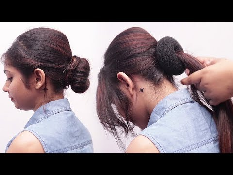 Juda Hairstyle for Wedding/party | Perfect Bridal Bun step by step | Latest hairstyles