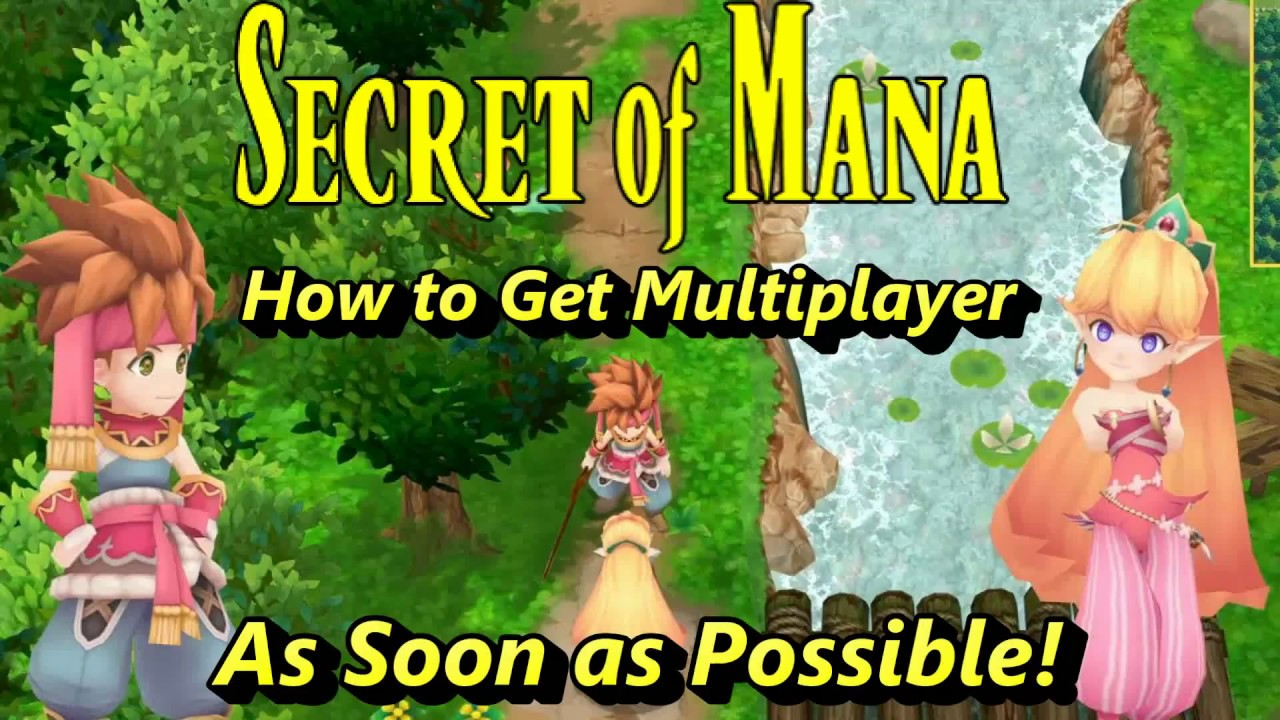 Secret of Mana How to Play 2 Player Get Multiplayer How to Get