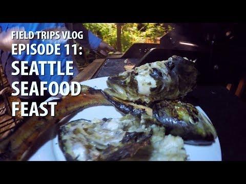 Catch 'n Cook: Trout Cheeks, Burbot Heads & Squid | #FieldTrips VLOG Ep 11