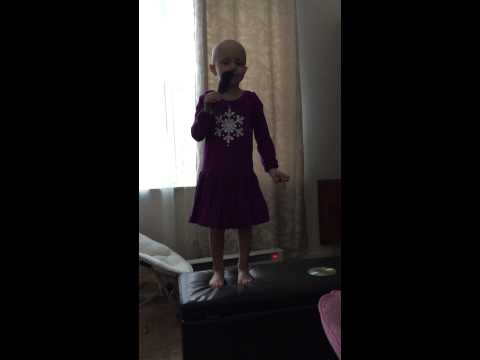 Childhood Cancer fighter Claire