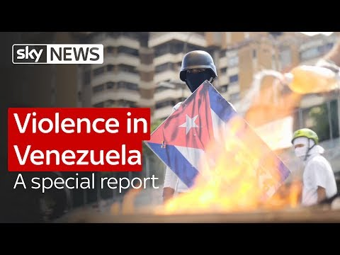 Protests, barricades and violence in Venezuela: A special report