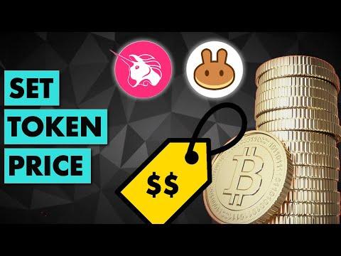 How to set the token price in a liquidity pool? (Uniswap, Pancake)