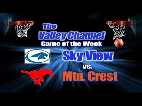 Sky View High School at Mountain Crest High School basketball game 1-27-17