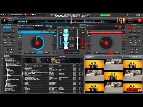 virtual dj 8 laptop mixing live shoulder back redsan