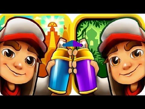 Subway Surfers Peru VS Singapore iPad Gameplay for Children HD #8