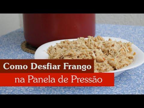 TRUQUE: COMO DESFIAR FRANGO RAPIDINHO