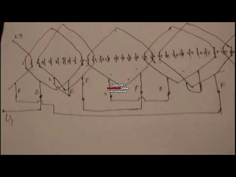 how to make 36 slot three phase motor 4 pole basket Ignition Box Wiring Diagram