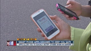 Smartphone apps that might outsmart bad guys