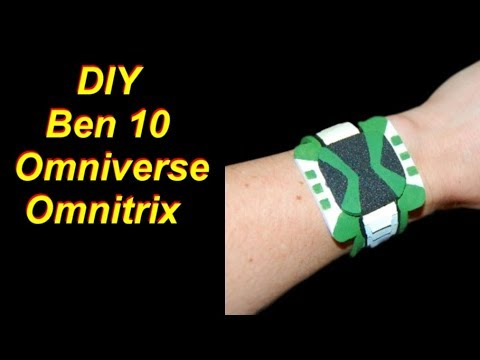 Ben 10 Omniverse Omnitrix Cheap and Easy DIY