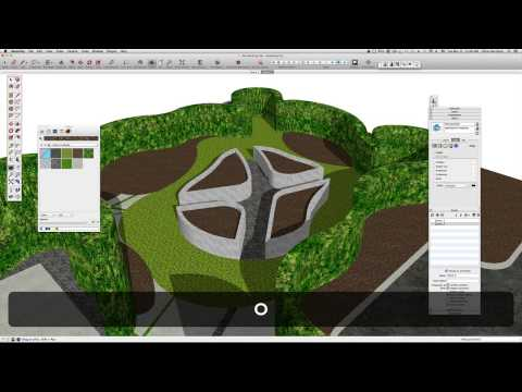 A8: Modeling 2D AutoCAD linework into a 3D Sketchup Model