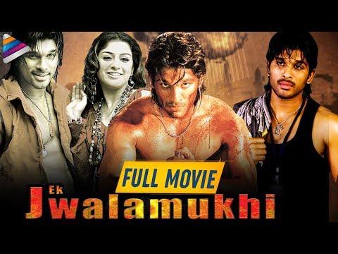 Allu Arjun Blockbuster Hindi Dubbed Full Movie   Ek Jwalamukhi Hindi Dubbed Full Movie   Allu Arjun
