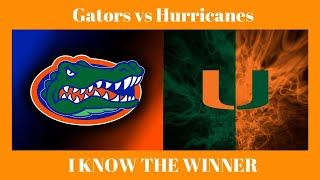 Florida vs Miami FREE Premium Winner College Football Picks