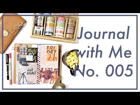 Journal with Me No. 005 | Midori Traveler's Notebook