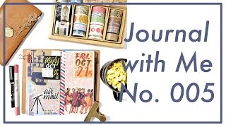 Journal with Me No. 005 | Midori Traveler's Notebook