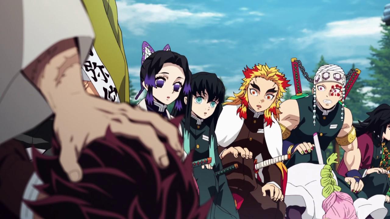 Demon Slayer Episode 22 Mitsuri Is Bullied And Faceplants Japanese Raw Youtube « pourfendeur de démon »), connue au japon sous le nom kimetsu no yaiba (鬼滅(きめつ)の刃(やいば), litt. demon slayer episode 22 mitsuri is bullied and faceplants japanese raw