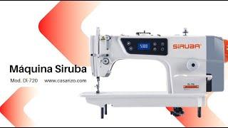 Recta electrónica Siruba dl720-m1  :: Casa Rizo