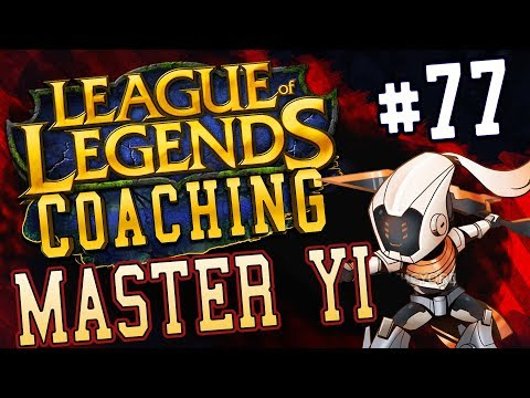NEACE: MASTER YI JUNGLE COACHING 77, SILVER, FOCUS ON YOURSELF BEFORE BLAMING YOUR TEAM TO WIN