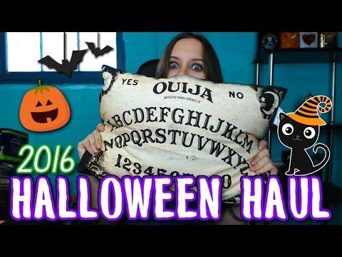 Huge Halloween Haul 2016    Spirit, Target, Christmas Tree Shops, & MORE!