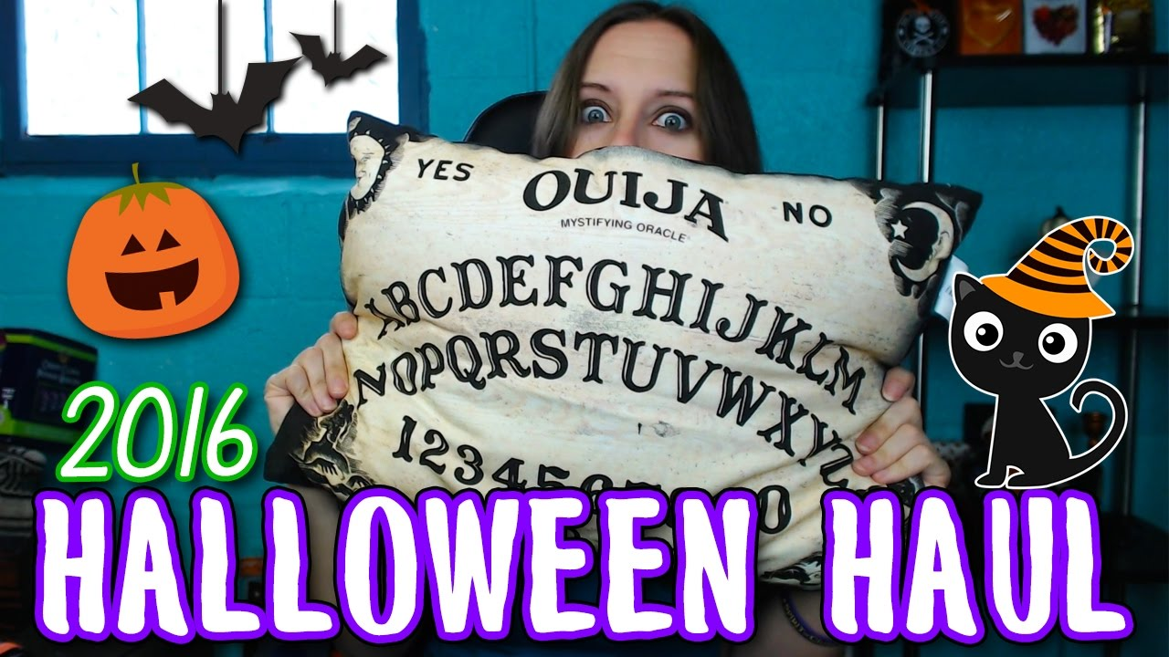 huge halloween haul 2016 spirit target christmas tree shops more - Target Halloween Tree