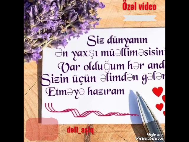 Muəlliməyə Aid 8 Mart Videosu Youtube