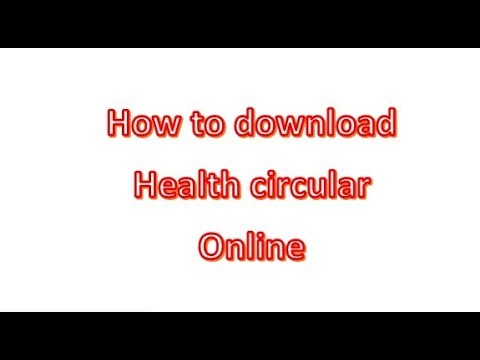 How to download health circular | Sri Lanka | Government