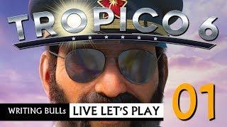 Live Let's Play: Tropico 6 (01) | 20.07.2019 [Deutsch]