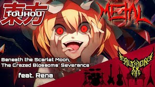 Download lagu Touhou - EastNewSound - Hiiro Gekka Kyousai no Zetsu (feat. Rena) 【Intense Symphonic Metal Cover】