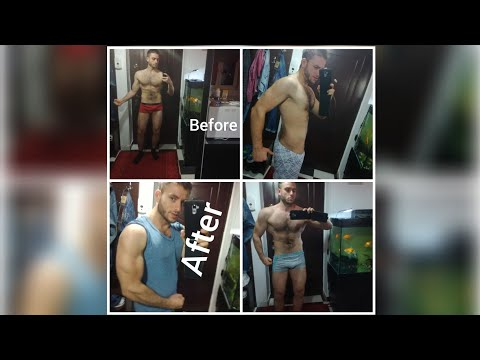 Natural to not natural 3months transformation bodybuilding