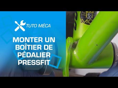 TUTO : montage d'un boitier de pédalier pressfit par Probikeshop
