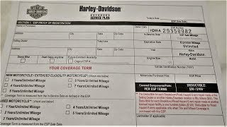 Harley-Davidson Warranty and Extended Service Plan Explained │ 2018