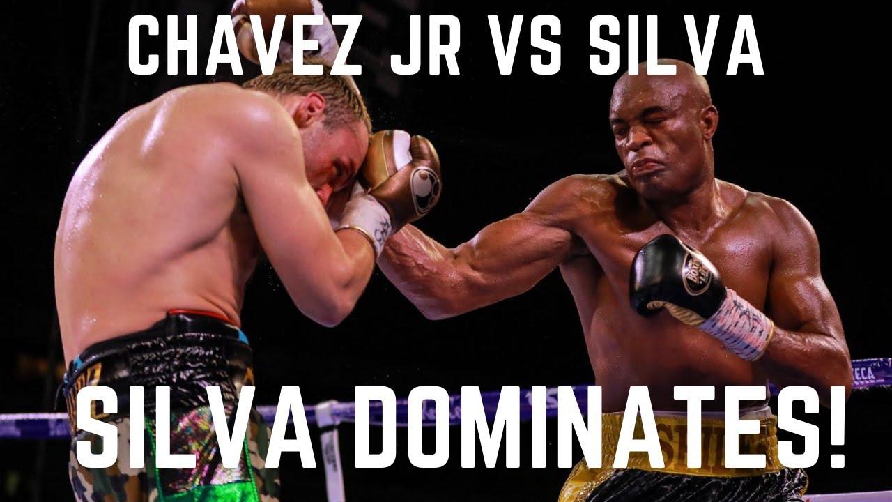 Anderson Silva vs Julio Cesar Chavez Jr | What Really Happened!