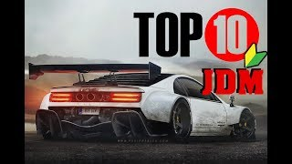 TOP 10 JDM SPORTS CARS OF THE EARLY '90s