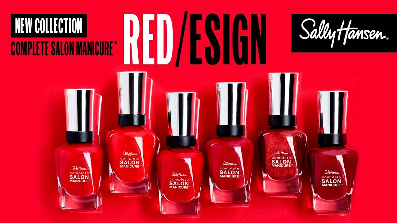 Complete Salon Manicure™ RED/esign Collection - EN :15s | Sally Hansen  Canada