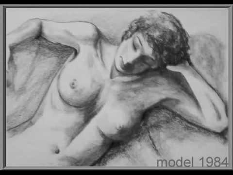 Artist naaktmodellen